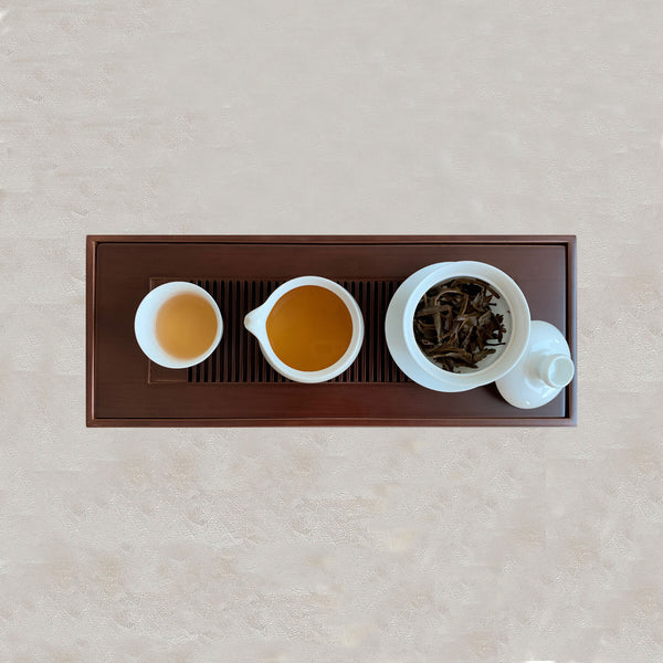 Gaiwan Tea Set with Bamboo Tea Tray