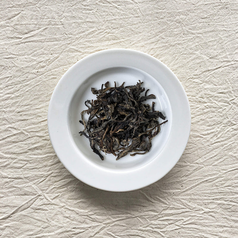 Bulang 2015 Raw Pu-erh Tea Plated