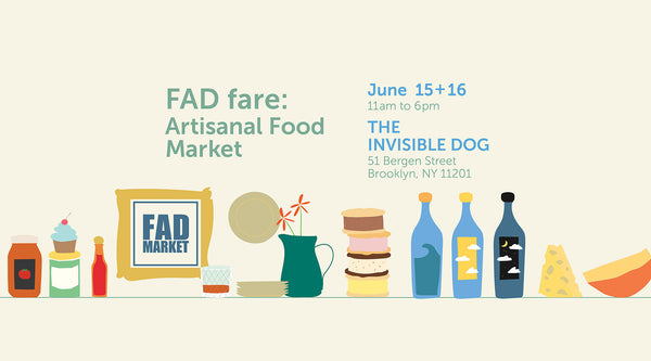 FAD Market Artisanal Food Flyer