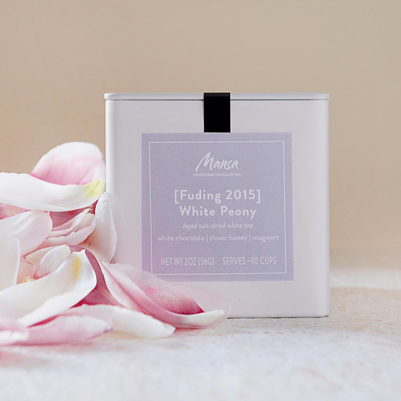 Fuding 2015 White Peony Packaging