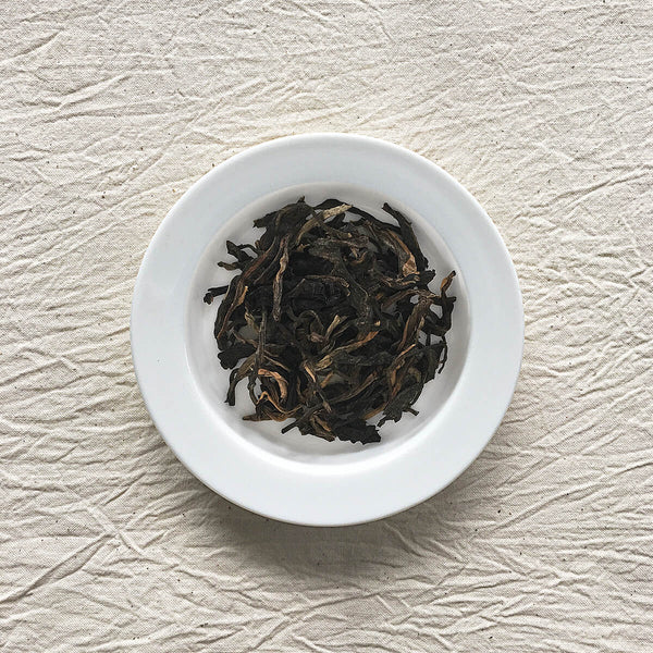 Hekai Ancient Tree Raw Pu-erh Plated