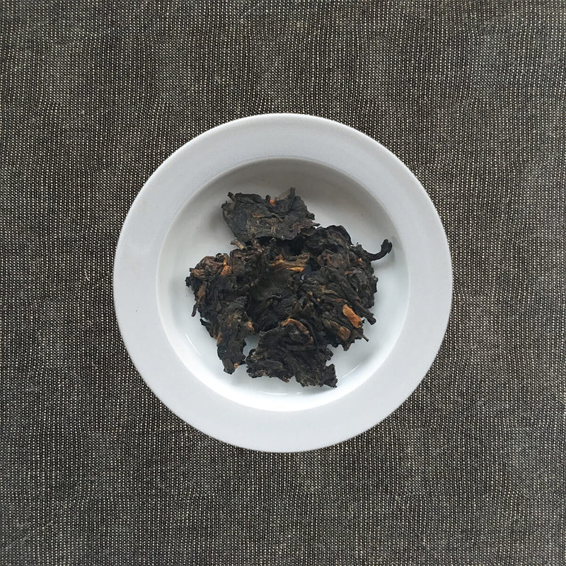 Lao Man'e Ancient Tree Pu-erh Tea Plated
