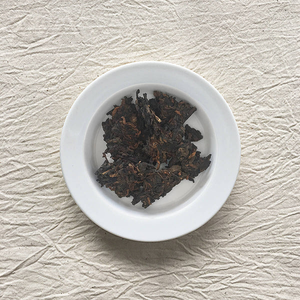 Menghai Pu-erh Tea Plated