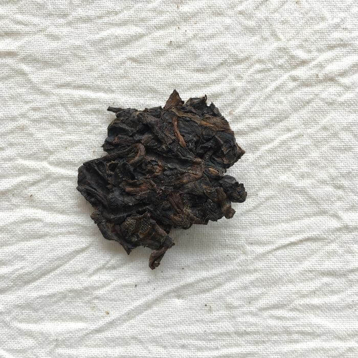 Pasha Ancient Tree Ripe Pu-erh Close Up