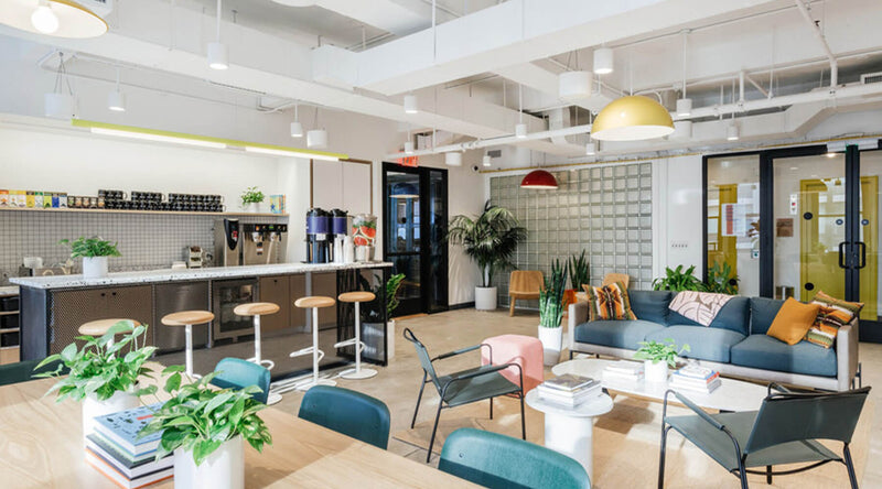 WeWork Chelsea Common Area