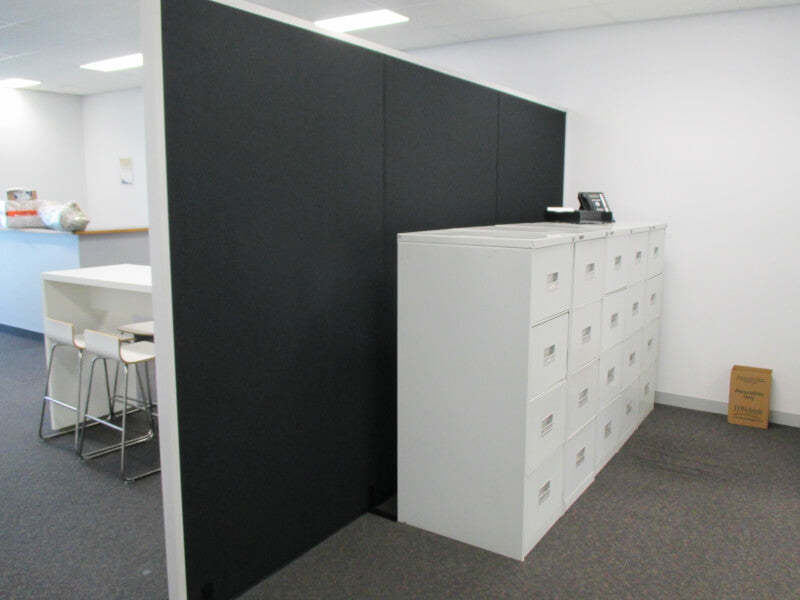 Freestanding Acoustic Partitions