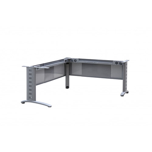 Frame Only - Workstation Desk & Return Metal with Modesty Panels