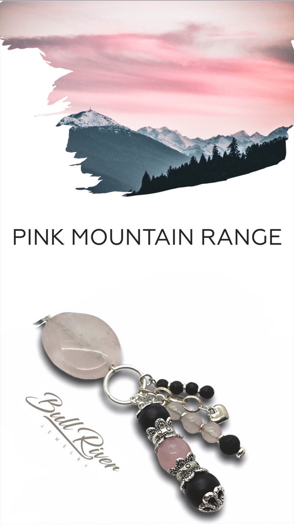 Pink Mountain Ranges