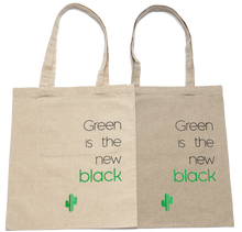 Load image into Gallery viewer, Green is the new black - Tote bag