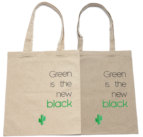 Green is the new black - Tote bag