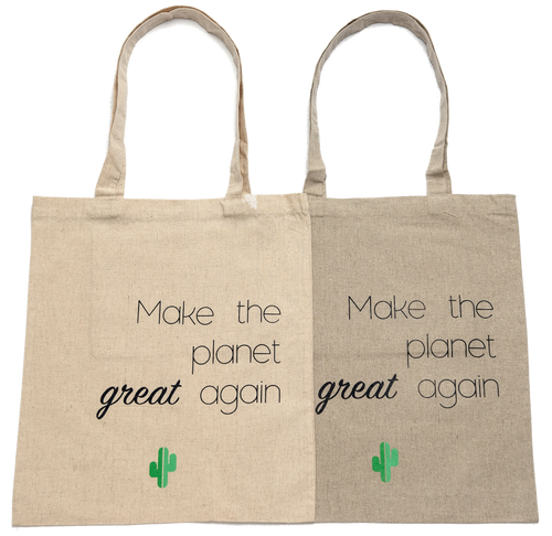 Make the planet great again - Tote bag