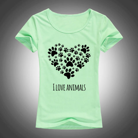 I Love Animals Tshirt
