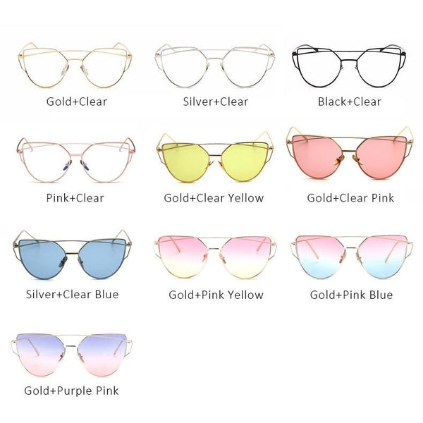 Cat Eye Sunglasses Fashion Eyewear