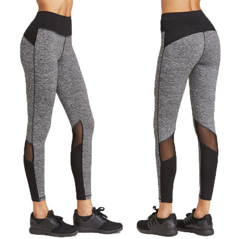 Patchwork yoga gym pant