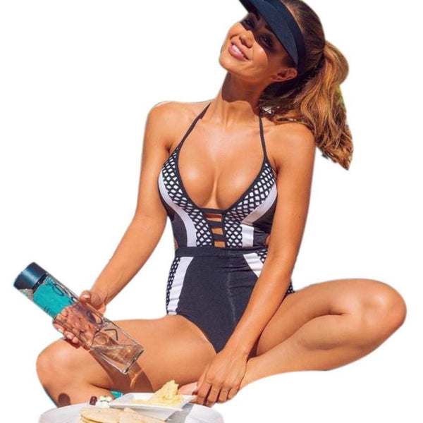 New Women One Piece Swimsuit