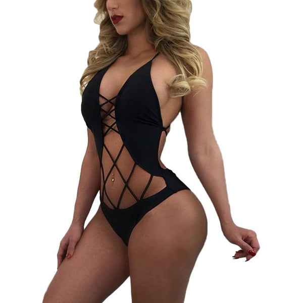 New Sexy Women Bandage Swimsuit