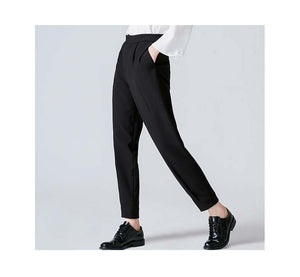 Toyouth Women's High Waist Black Pants - modfet.com