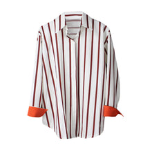 Load image into Gallery viewer, Ladies Striped shirt - modfet.com