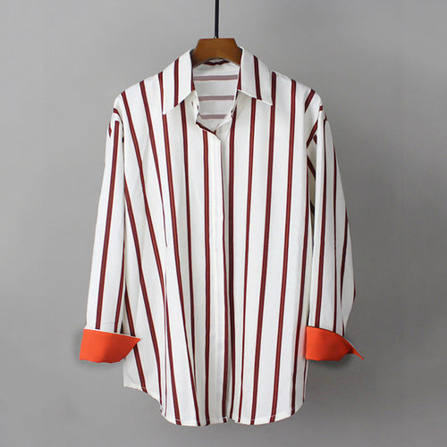Ladies Striped shirt - modfet.com