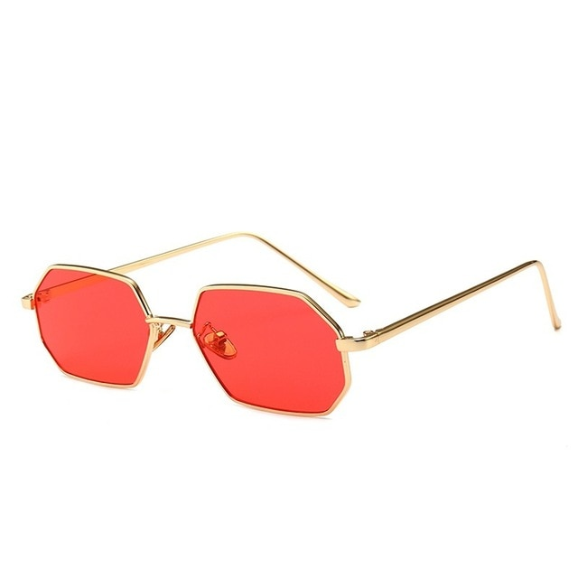 Red Lensed Fashion Glasses