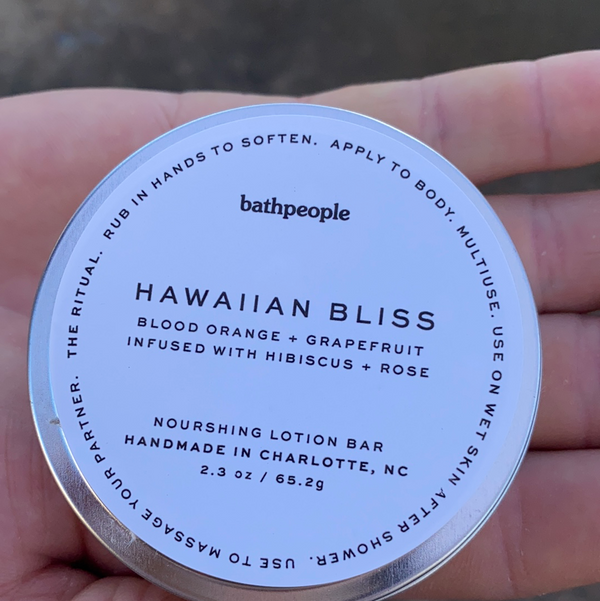 Hawaiian Bliss Lotion Bar