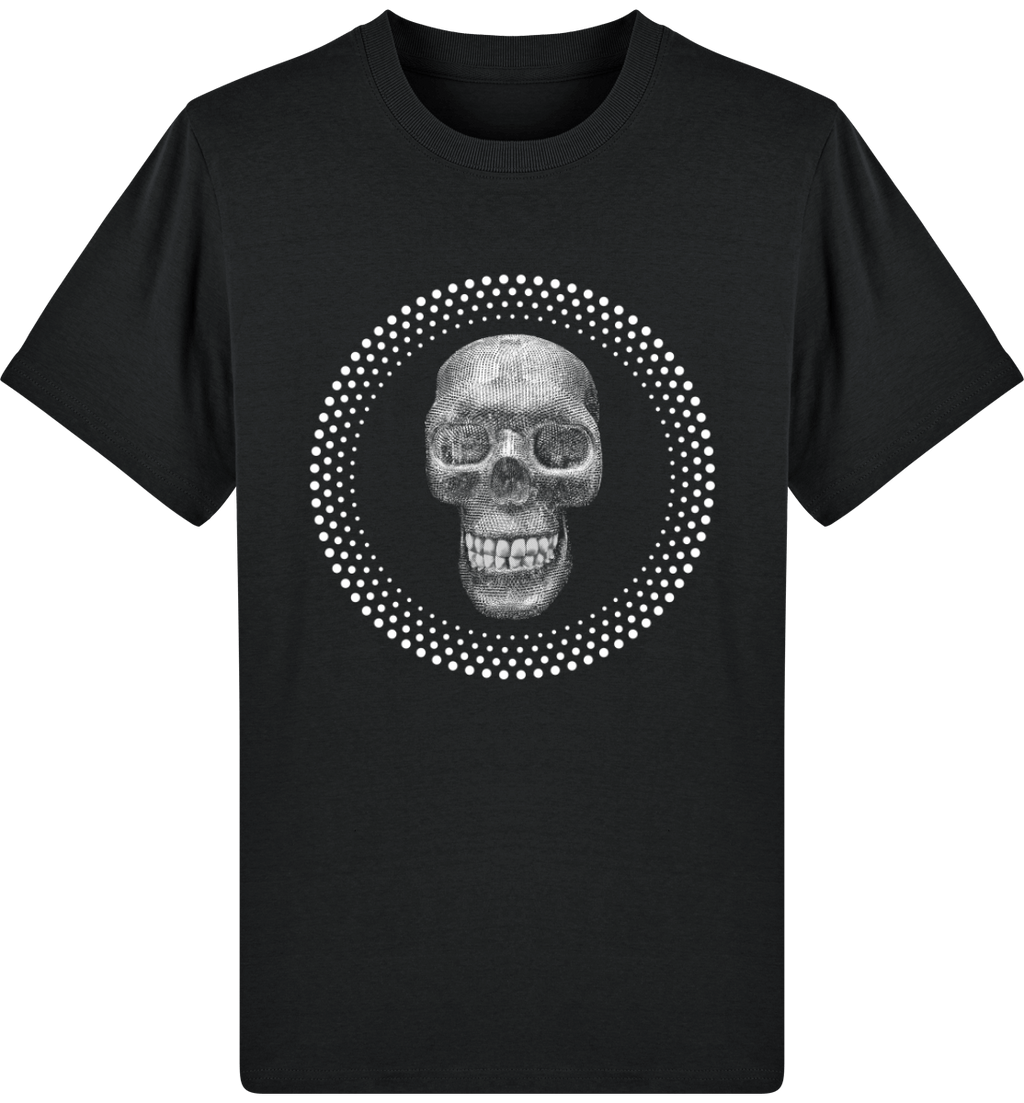 "Tee-shirt homme ""DIAMOND SKULL"" - coton bio - ORIGINAL DARKSIDE"