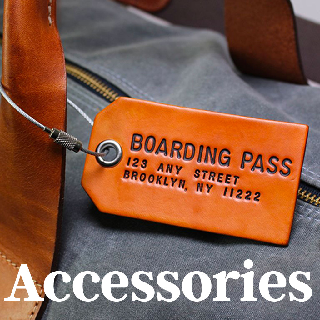 luggage tags and travel accessories