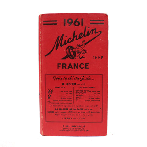 Michelin Travel Guide to France, 1961