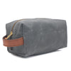 best mens shaving kit bag grey
