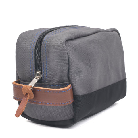 Hey Handsome Shaving kit Bag Grey