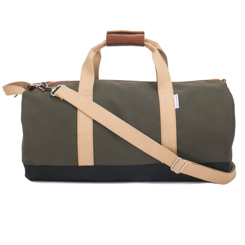 men's army green gym duffel bag