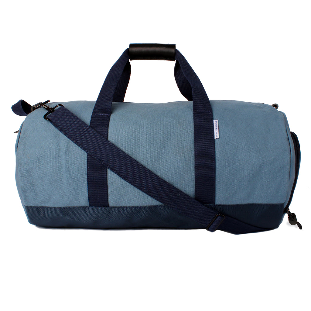 mens blue duffel bag sky blue RAF Blue duffel