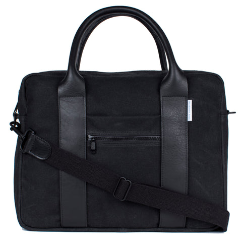 Flight Briefcase - Onyx Black