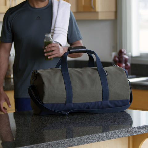 "Army and Navy ""Work Hard, Play Hard"" Duffel"