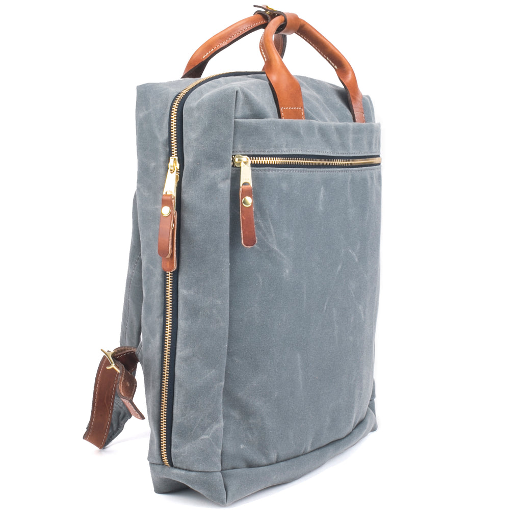 best backpack for work cotton waxed canvas