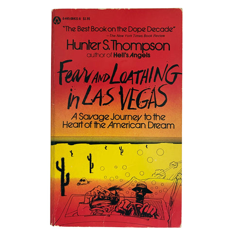 Fear and Loathing in Las Vegas - First Paperback Edition - 1971