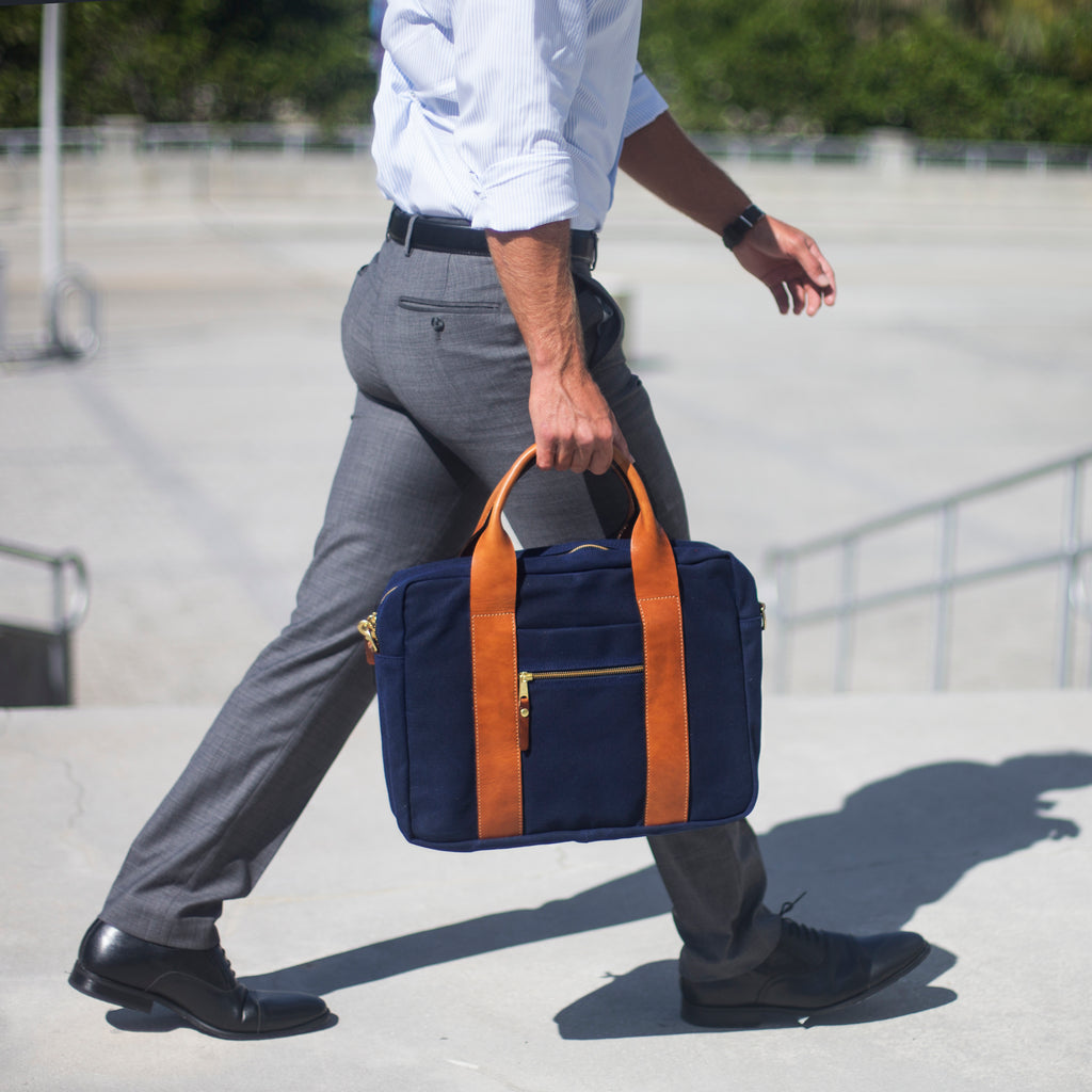 mens stylish briefcase
