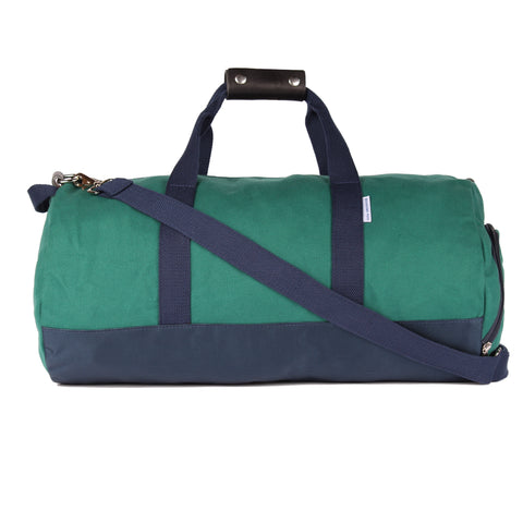 "Forest Green ""Work Hard, Play Hard"" Duffel Bag"