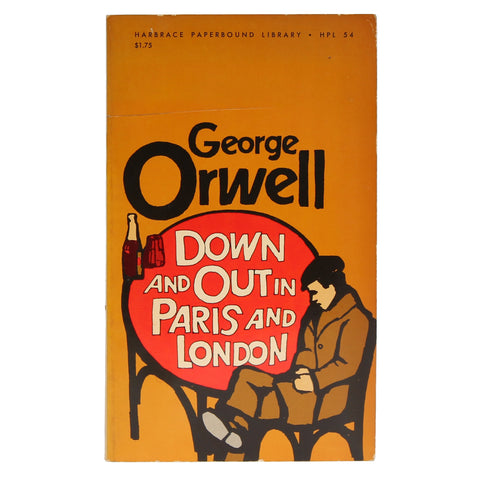Down and Out in London and Paris - First Paperback Edition
