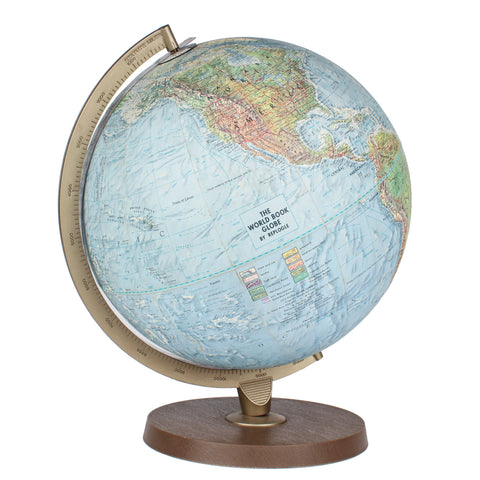 World Book Relief Globe by Replogle