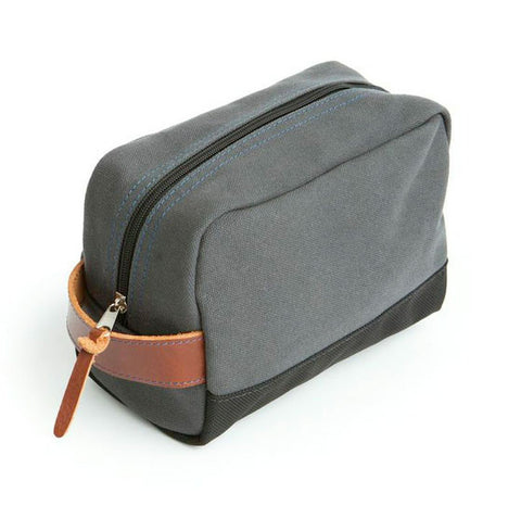 Stay Sharp Shaving Kit Bag - Grey