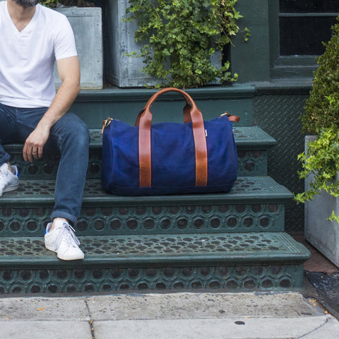 Voyager Waxed Weekender - Midnight