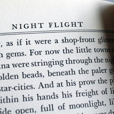 Night Flight (First Edition, First U.S. Printing), 1932