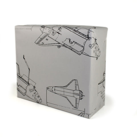 Space Shuttle Premium Gift Wrap