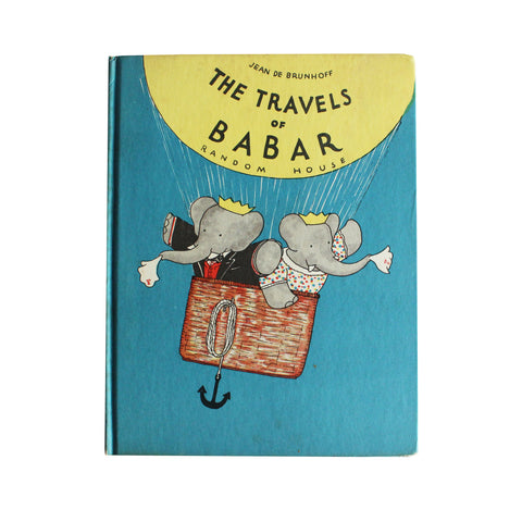 The Travels of Babar (First Edition, First U.S. Printing, 1934)