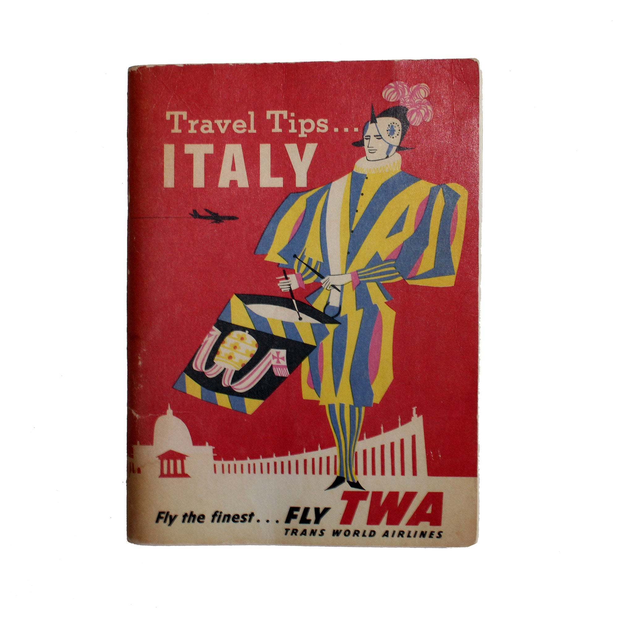 Travel Tips...Italy by TWA, 1960
