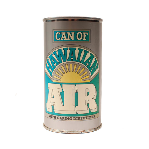 Can of Hawaiian Air, 1981