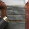 how to wax a canvas duffel bag