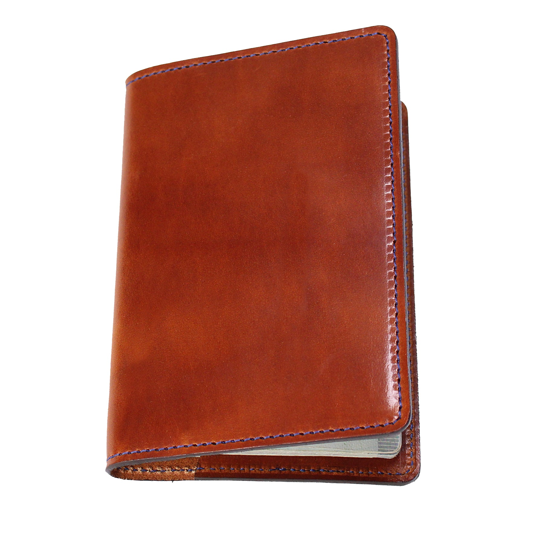 stylish passport wallet brown for men and women