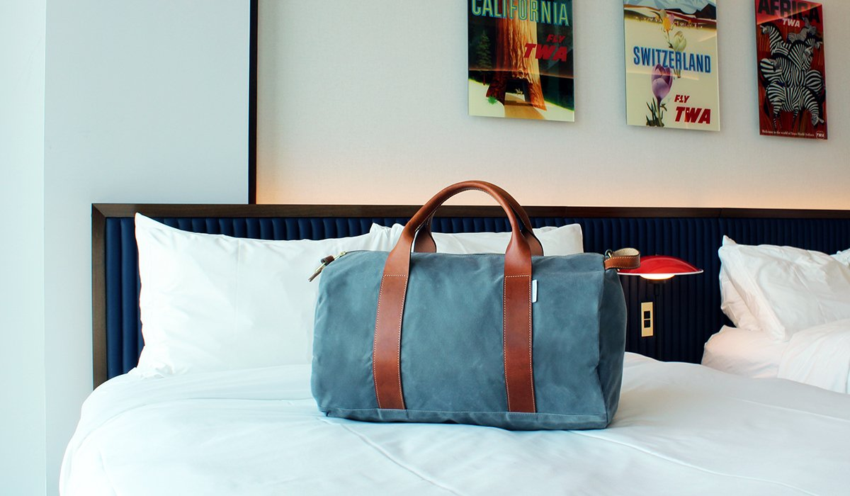 weekender bags for men
